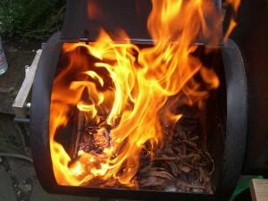 Rebenglut Flammen