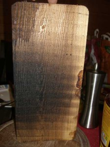 Smoking Board nach gebrauch