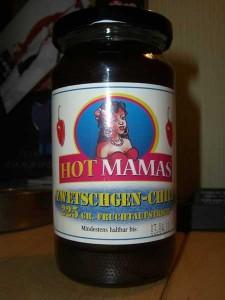 HotMamas Zwetschgen-Chili-Fruchtaufstrich
