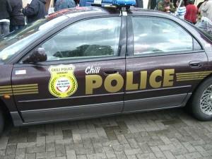 HotMamas Chili Police Car