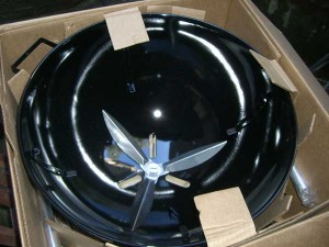 Bestandteile Weber One Touch Premium Special Edition