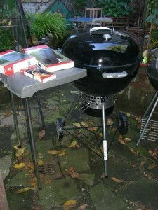 Weber One Touch Premium Speacial Edition mit Kettlemate