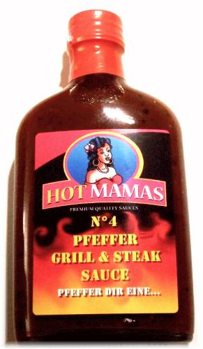 HotMamas No.4 Pfeffer Grill & Steak Sauce