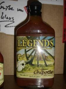 LEGENDS BBQ Premium Chipotle