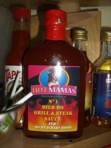 HotMamas No. 1 Bier BBQ Sauce