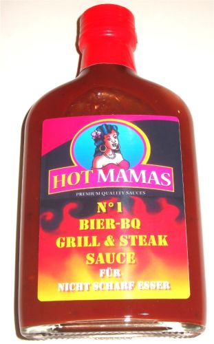 HotMamas No.1 BQ Sauce