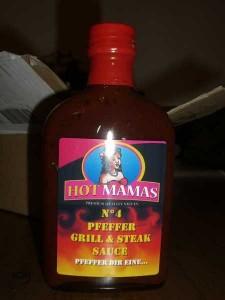 HotMamas Sauce No. 4 Pfeffer Grill & Steak Sauce