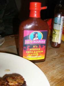 HotMamas No. 4 Pfeffer Grill & Steak Sauce