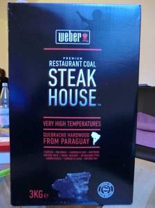 Weber Steak House Premium Restaurant Coal