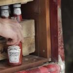 Heinz Erste Ernte Tomato Ketchup auf Ladepritsche