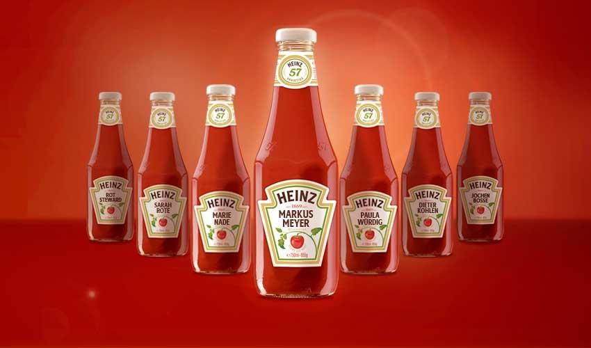 Heinz Ketchup Flasche