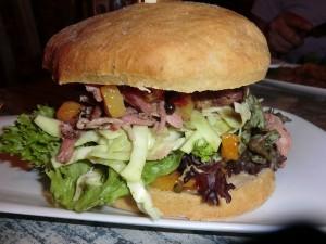Strandhaus Pulled Pork Burger