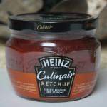 HEINZ Culinair Ketchup Curry, Pfeffer und Zitrone