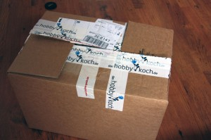 Paket vonm weber Premium Onlinehändler derhobbykoch.de