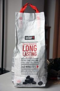 Weber Grill Briketts Premium (Long Lasting)