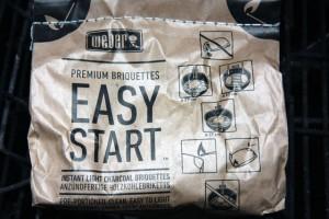 Weber Easy Start Premium Briketts