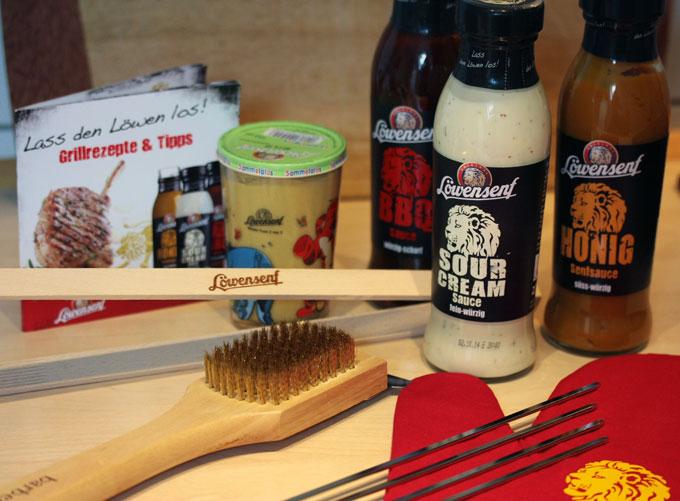 Testpaket mit Löwensenf Sour Cream Sauce