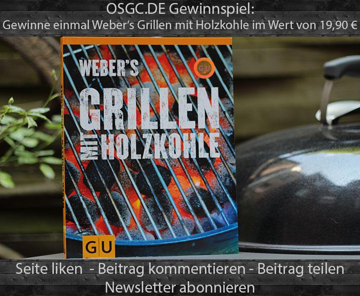 Gewinnspiel Weber's Grillen mit Holzkohle