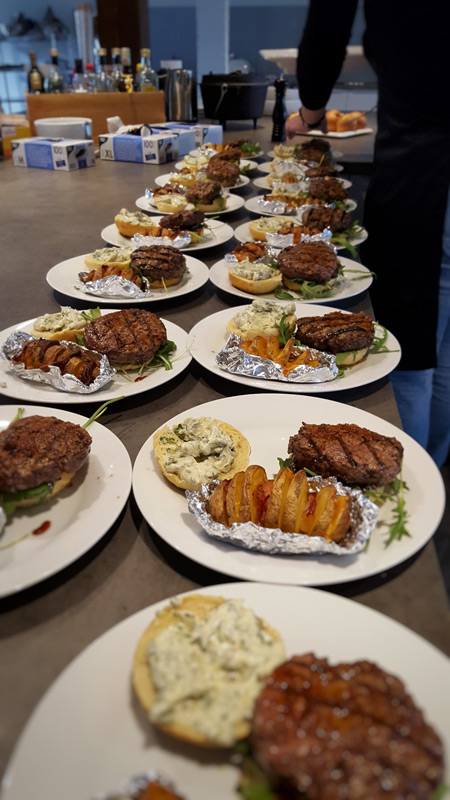 Burger Seminar Grillfachgeschäft Düsseldorf