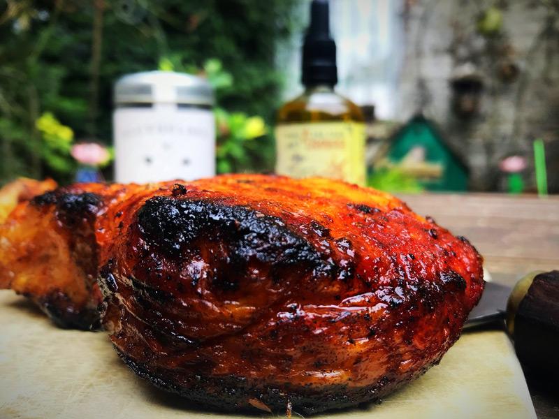 Tomahawk Steak mit Genusspuder