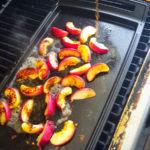 Flambierte Pfirsiche