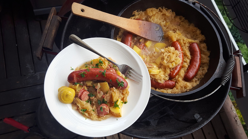 Sauerkrauttopf