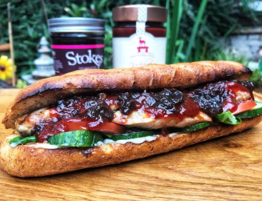 Kachelfleisch Sandwich
